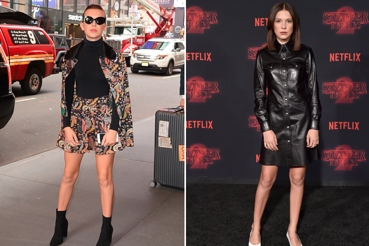millie bobby brown fashion