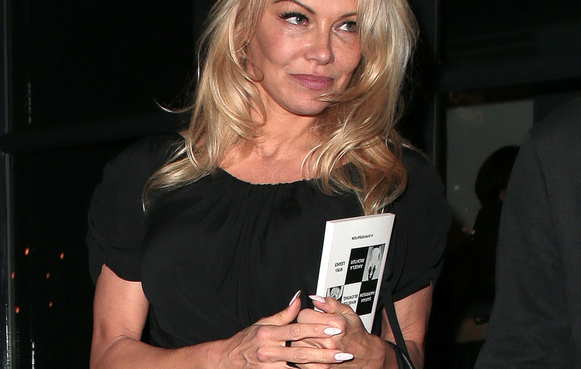pamela anderson getty images