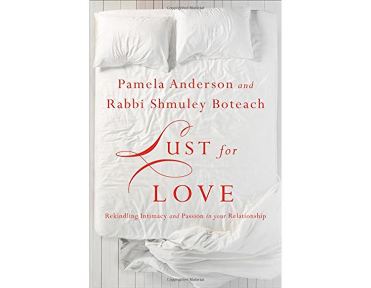 pamela anderson's new book lust for love