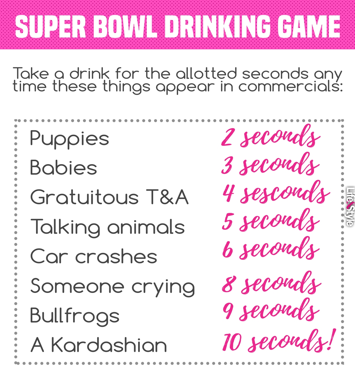 super bowl 2018 drinking game again