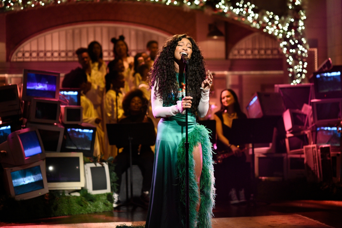 sza snl getty images