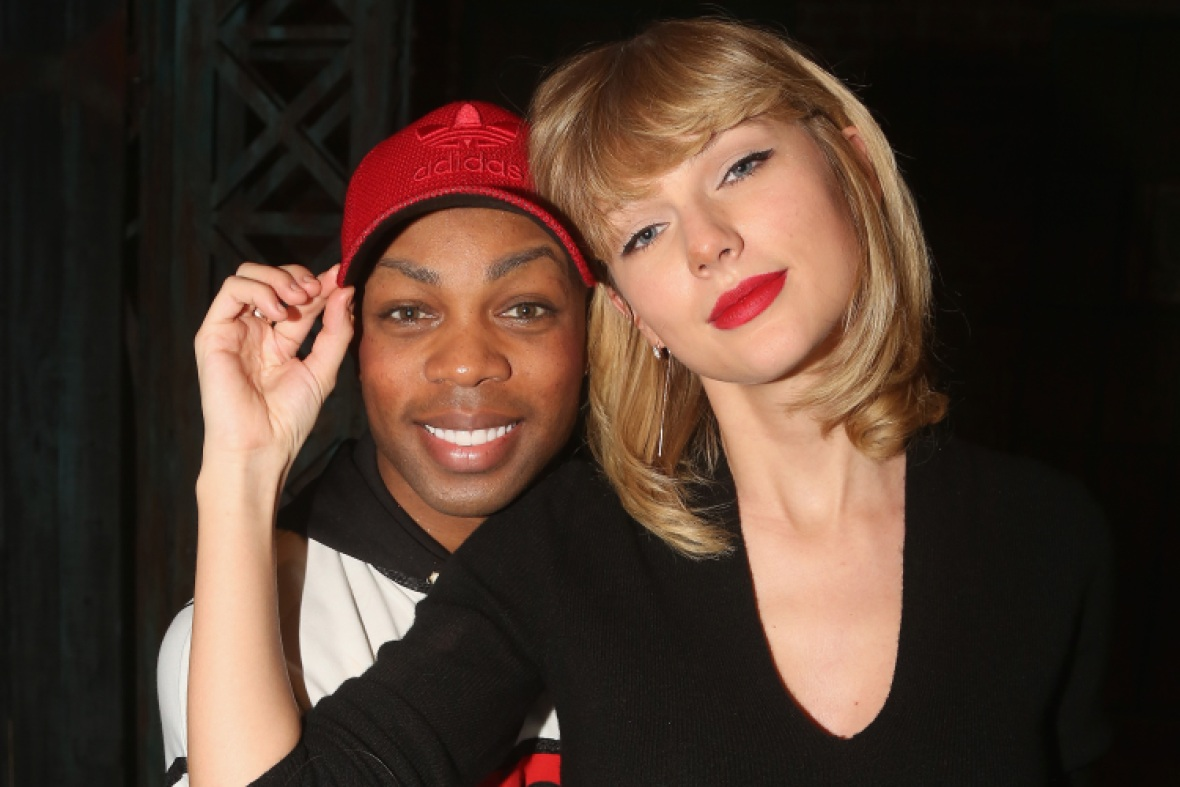 taylor swift todrick hall getty images