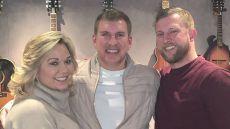 Todd Chrisley and Julie Chrisley Smile With Kyle Chrisley