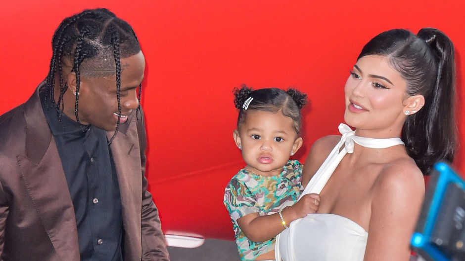 """Kylie Jenner and Travis Scott at the Premiere of """"Look Mom I Can Fly"""""""