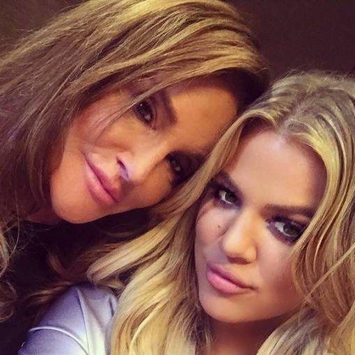 caitlyn jenner khloé kardashian instagram