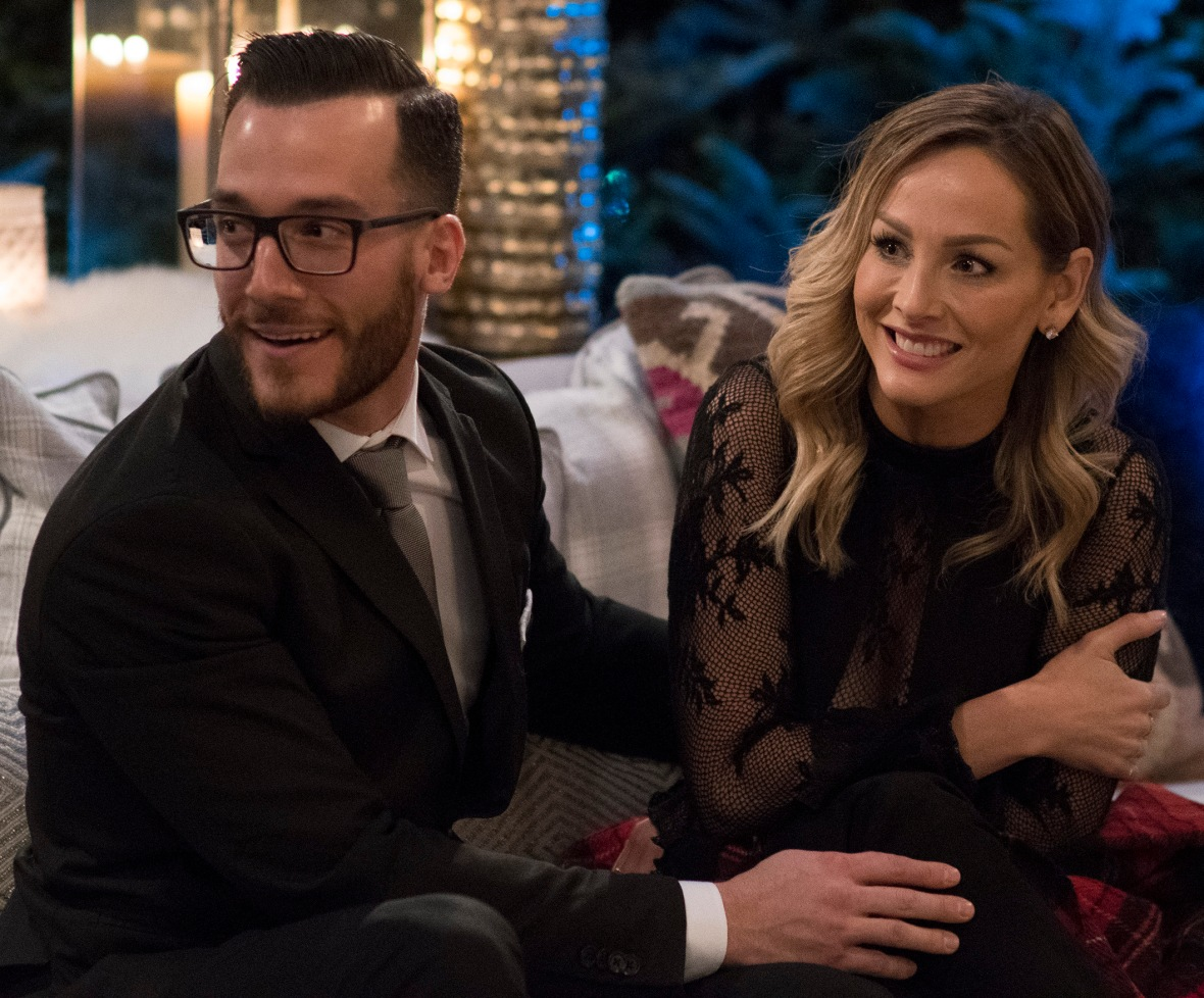 the bachelor winter games clare and benoit getty images