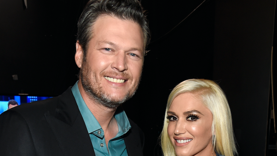 Blake and Gwen at an event together