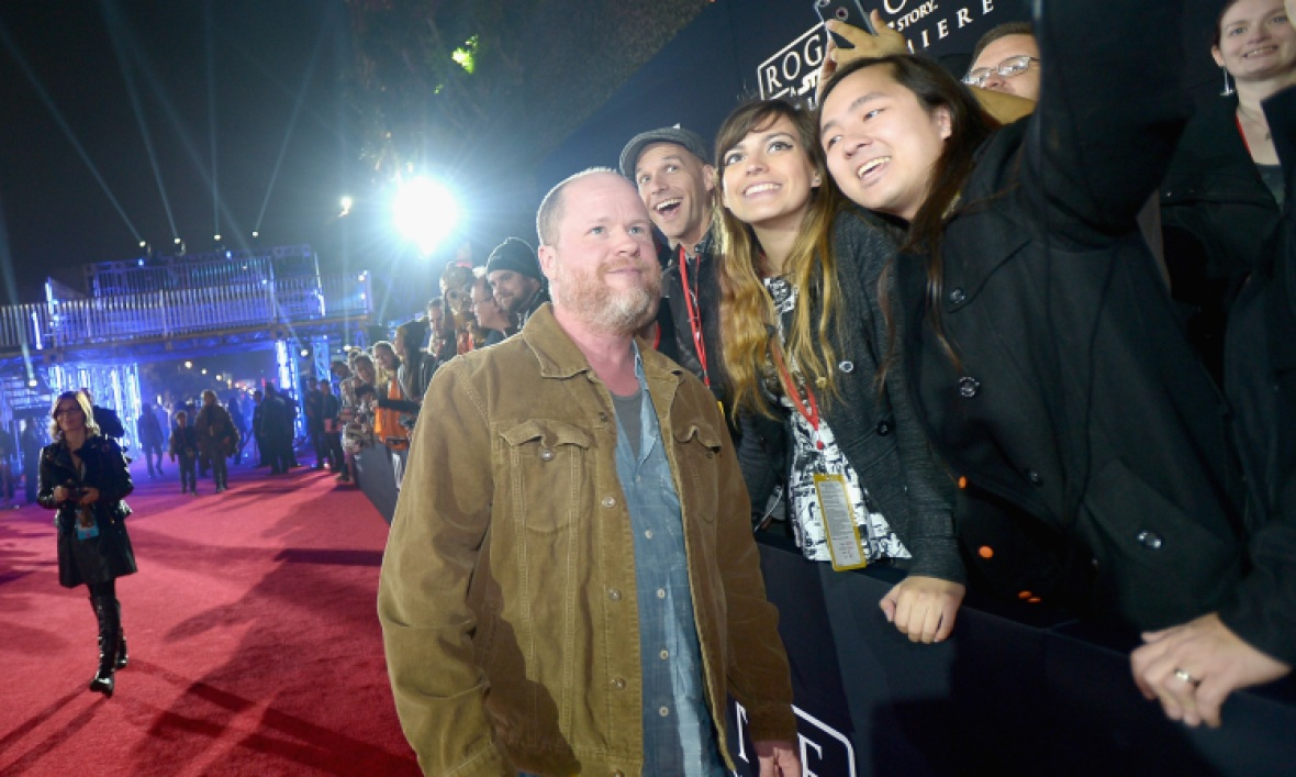 joss whedon and fans
