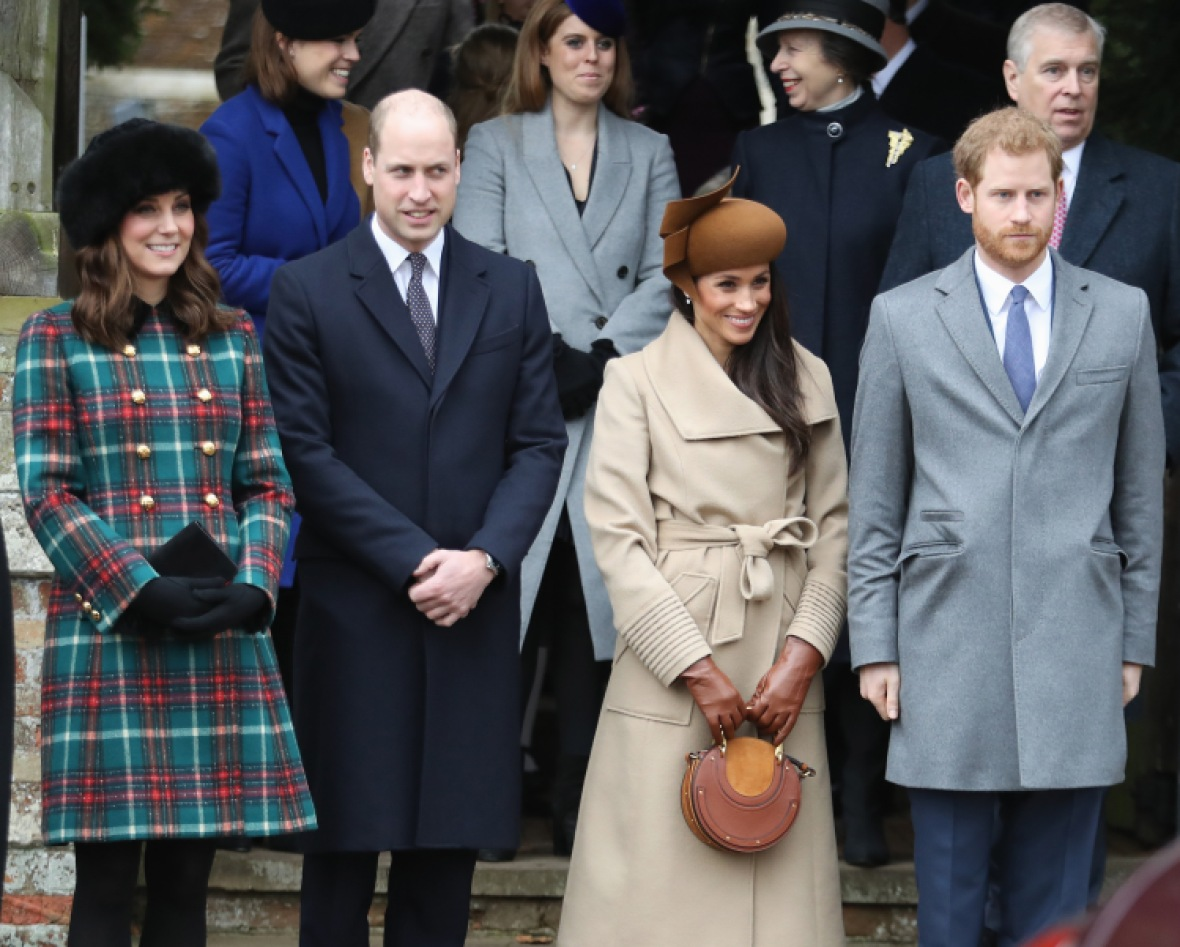 kate middleton prince william meghan markle prince harry getty images