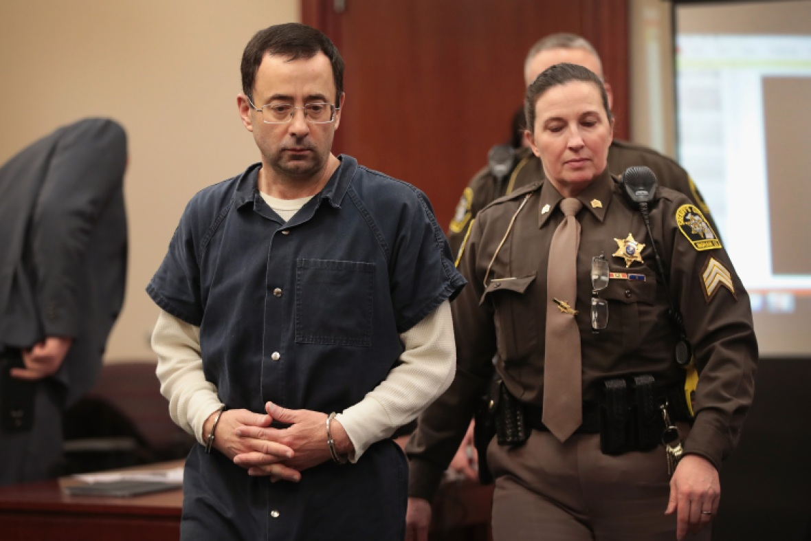 larry nassar getty images