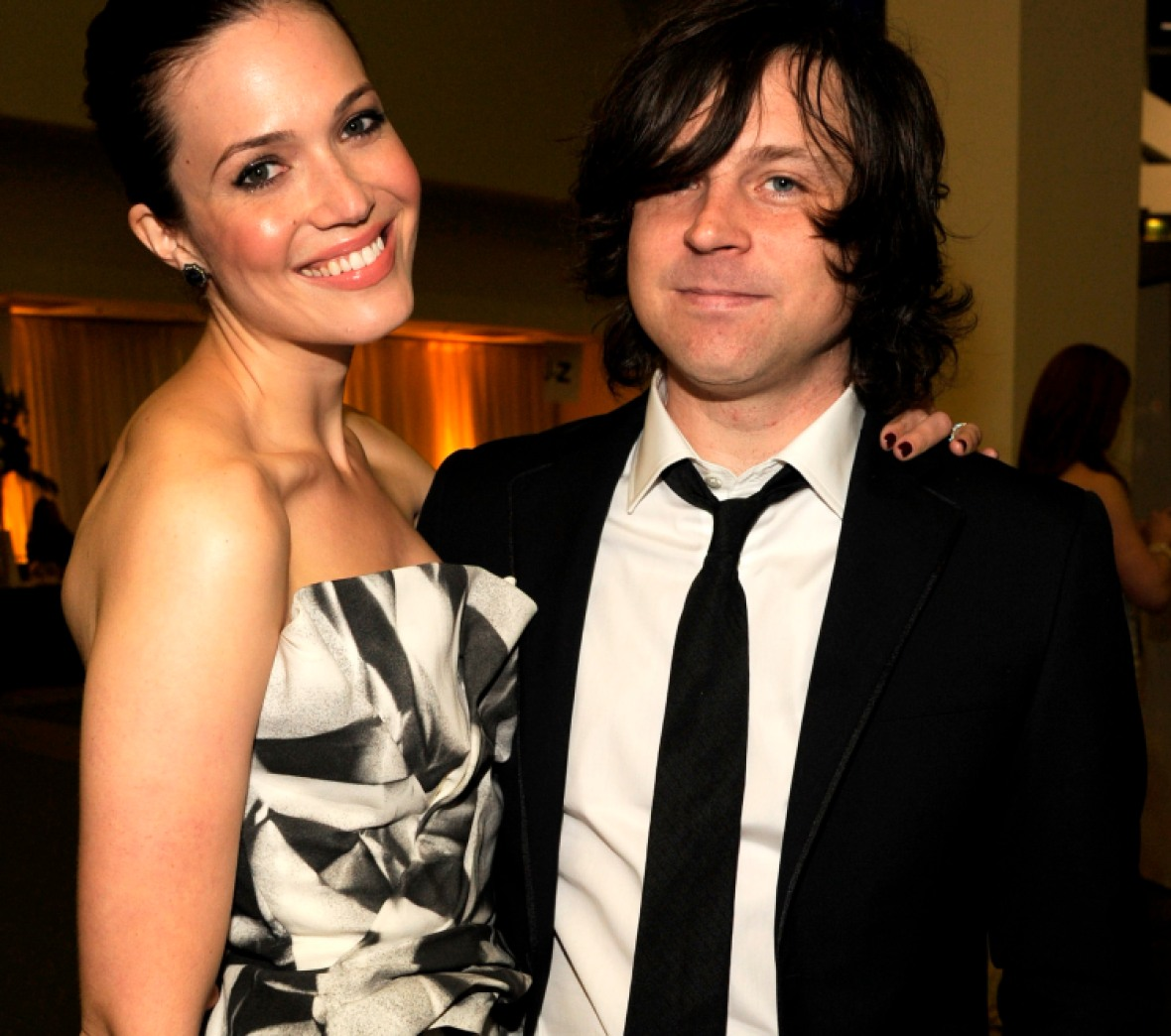 mandy moore ryan adams getty