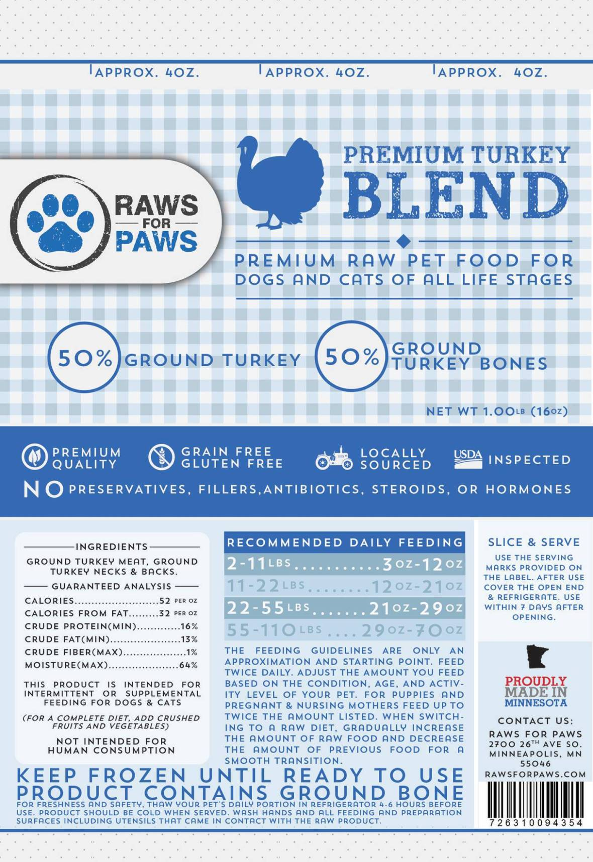 raw for paws