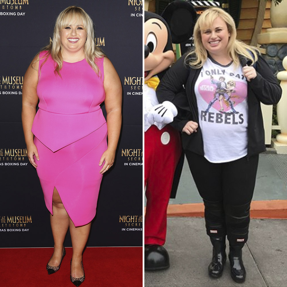 Rebel Wilson Weight Loss: See Before and After Pics of Her