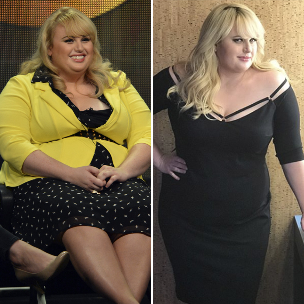 rebel wilson weight loss before and after