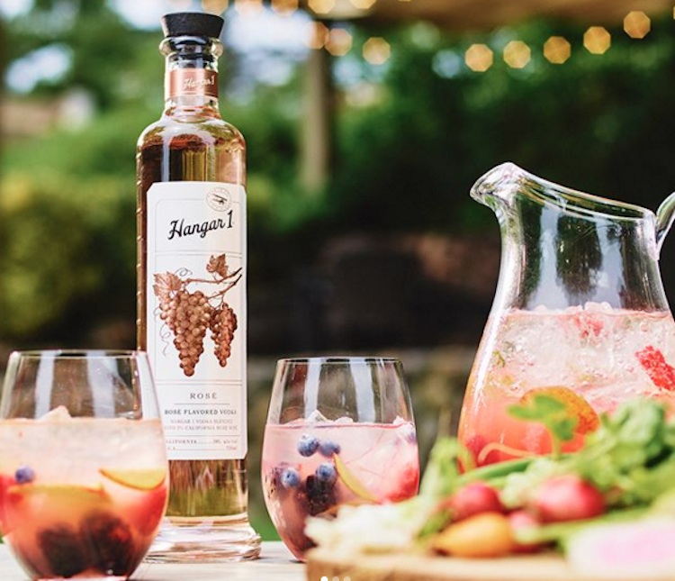 rose vodka instagram