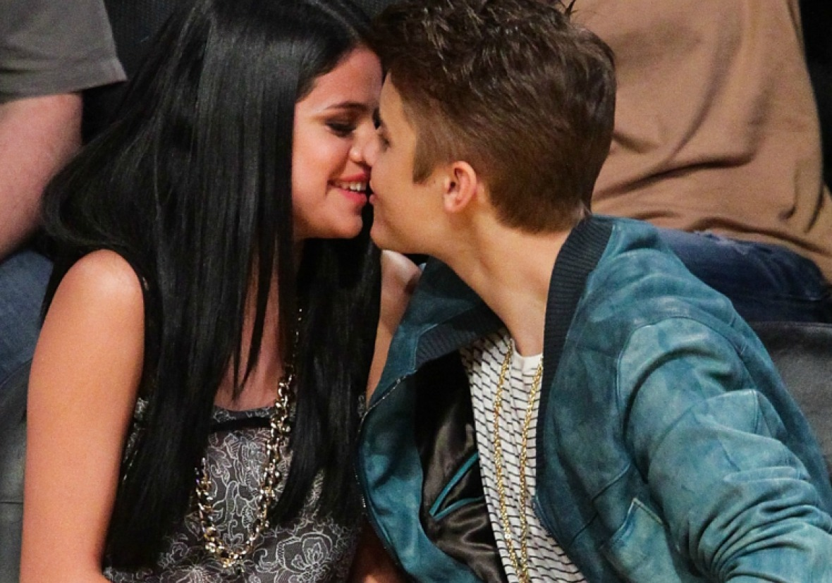 justin bieber selena gomez getty images