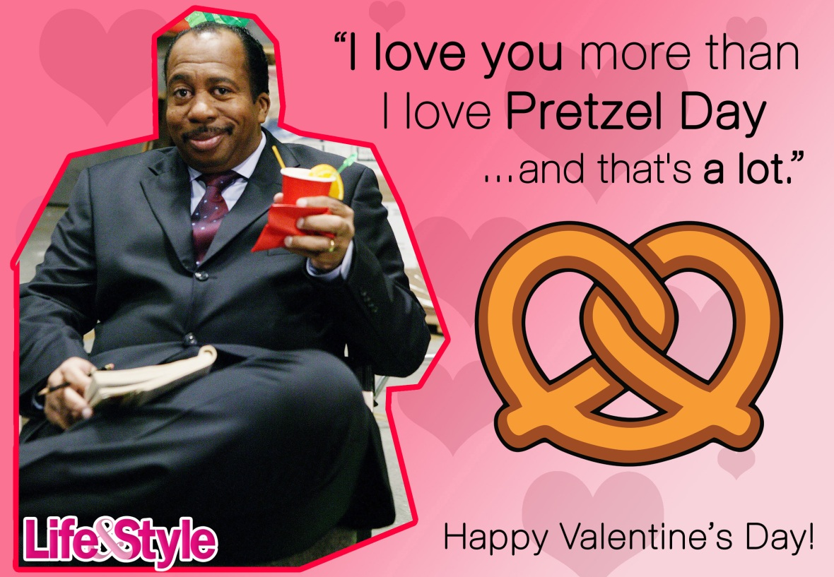 the office valentine's day stanley