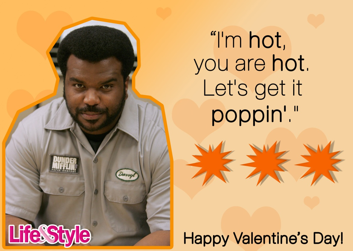the office valentine's day darryl