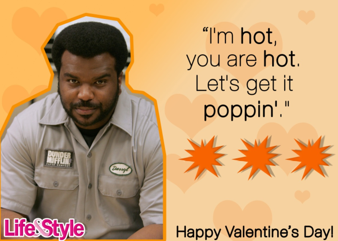 the office valentine's day darryl