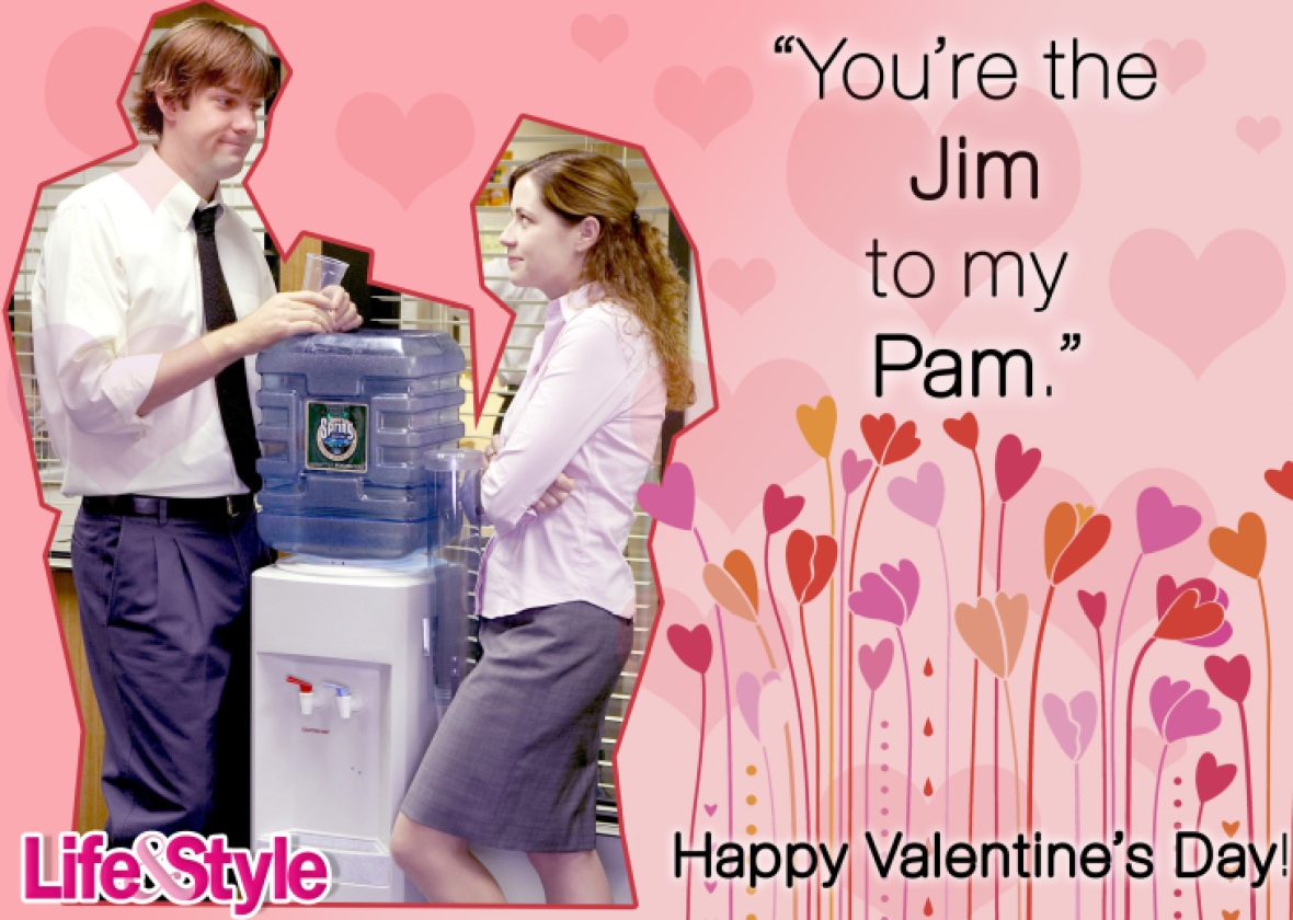 the office valentine's day jim and pam