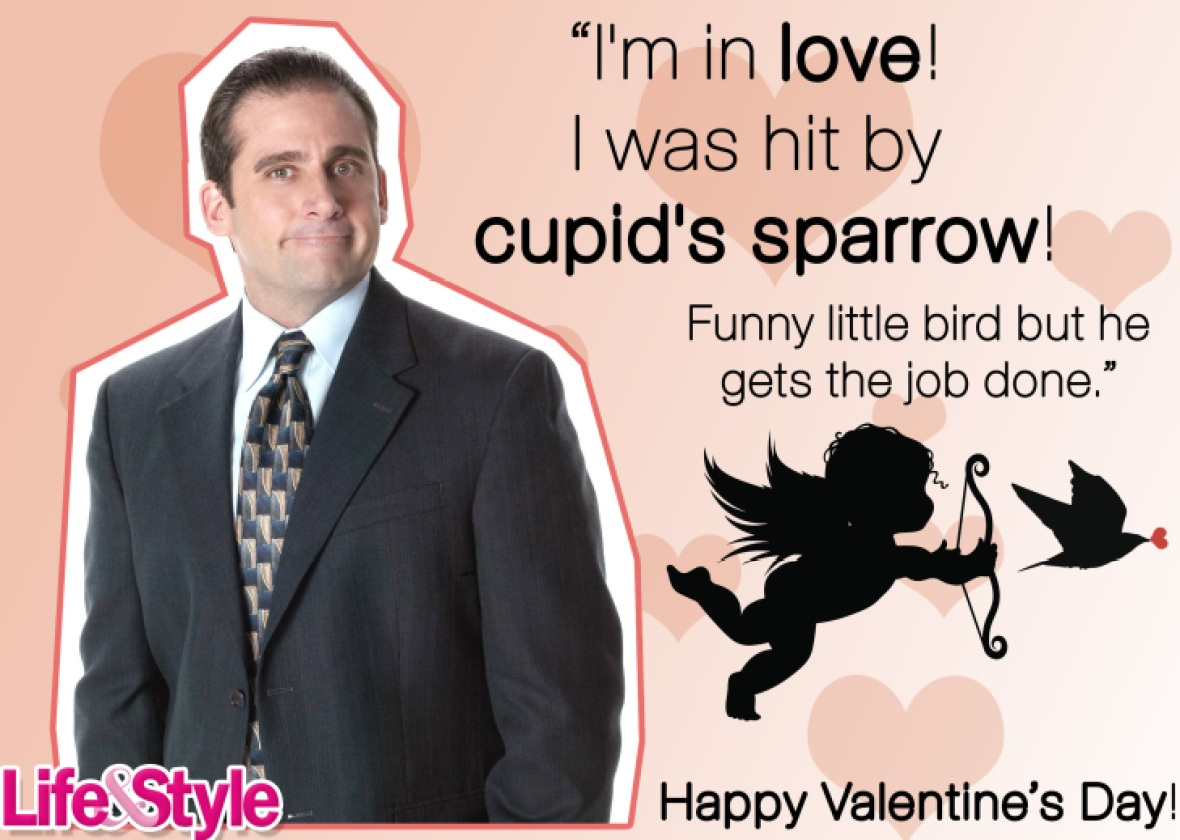 the office valentine's day michael