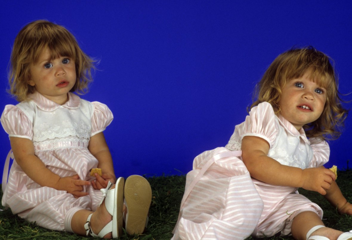 baby mary-kate and ashley