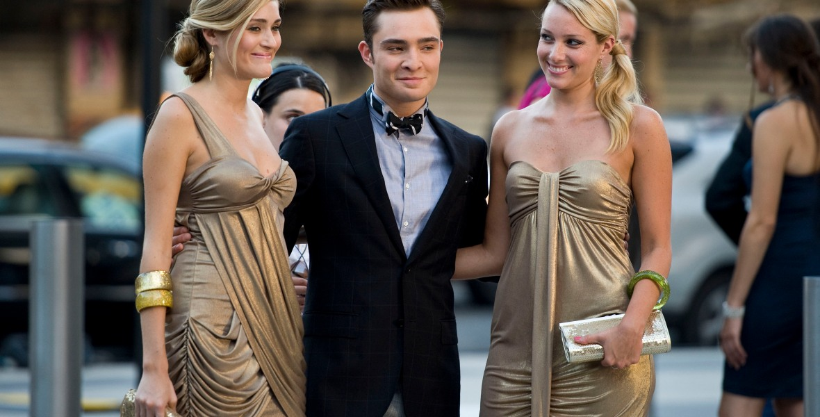 chuck bass gossip girl getty