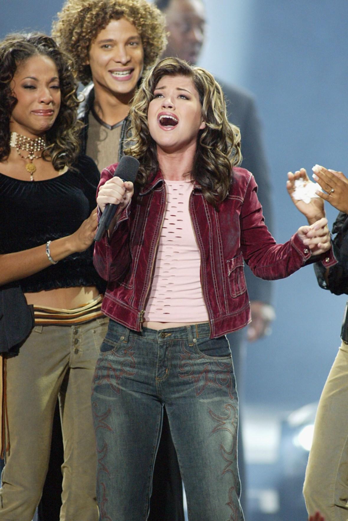 kelly clarkson 'american idol' getty images