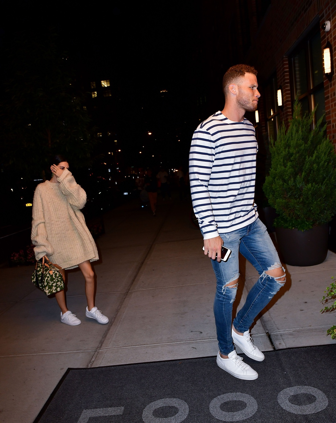 kendall jenner, blake griffin, getty