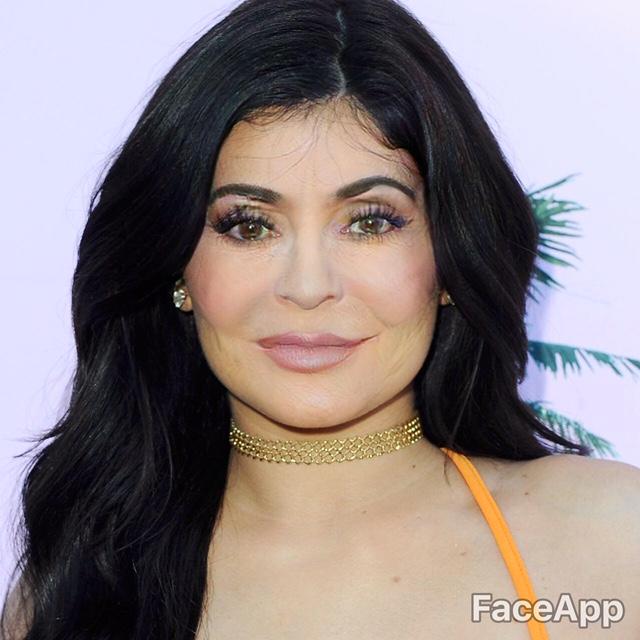 Kylie jenner old