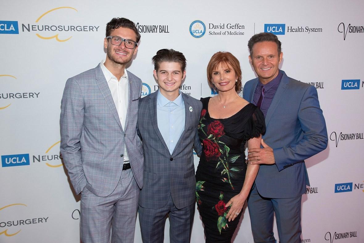 roma downey mark burnett family getty images