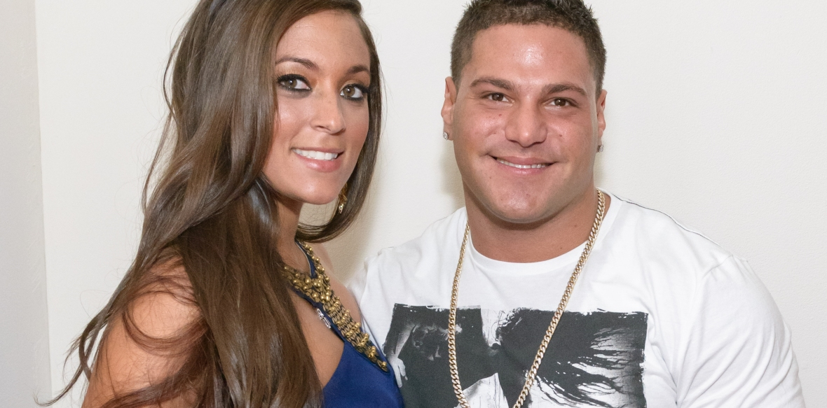 "ronnie magro sammi \""sweetheart\\"" giancola getty images"