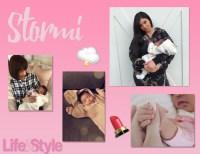 Stormi Webster collage