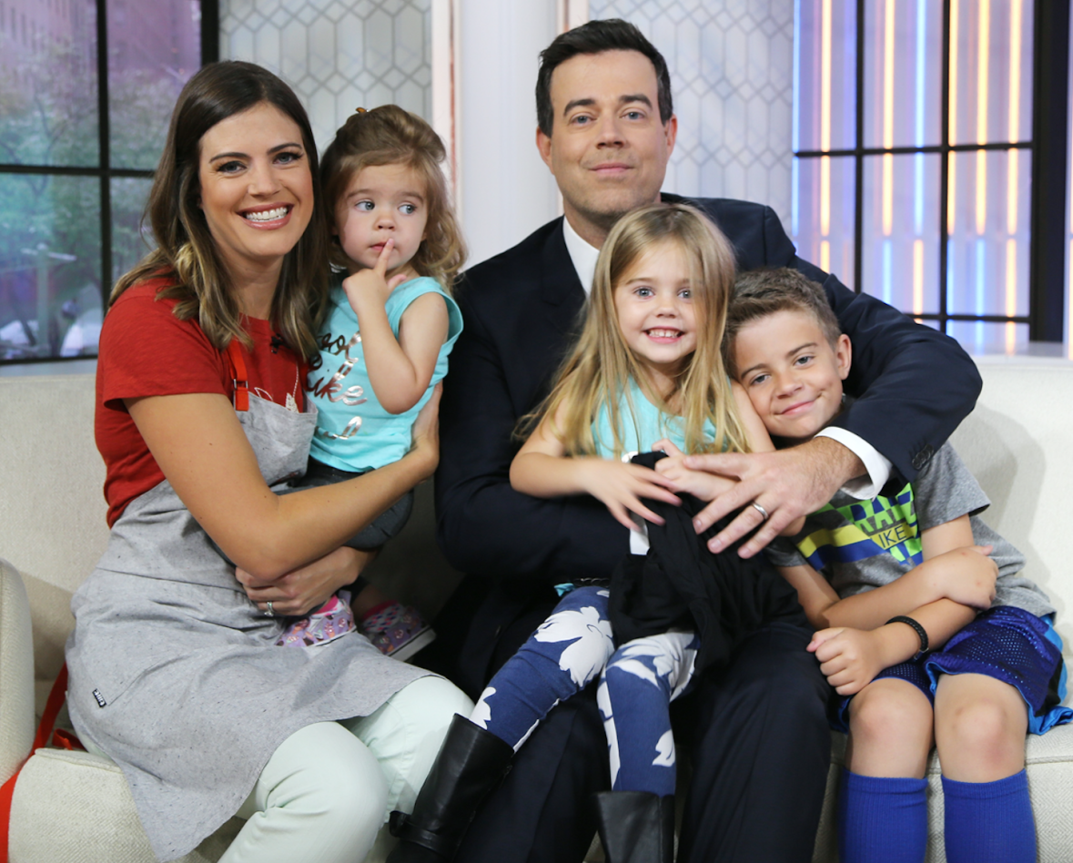 carson daly kids