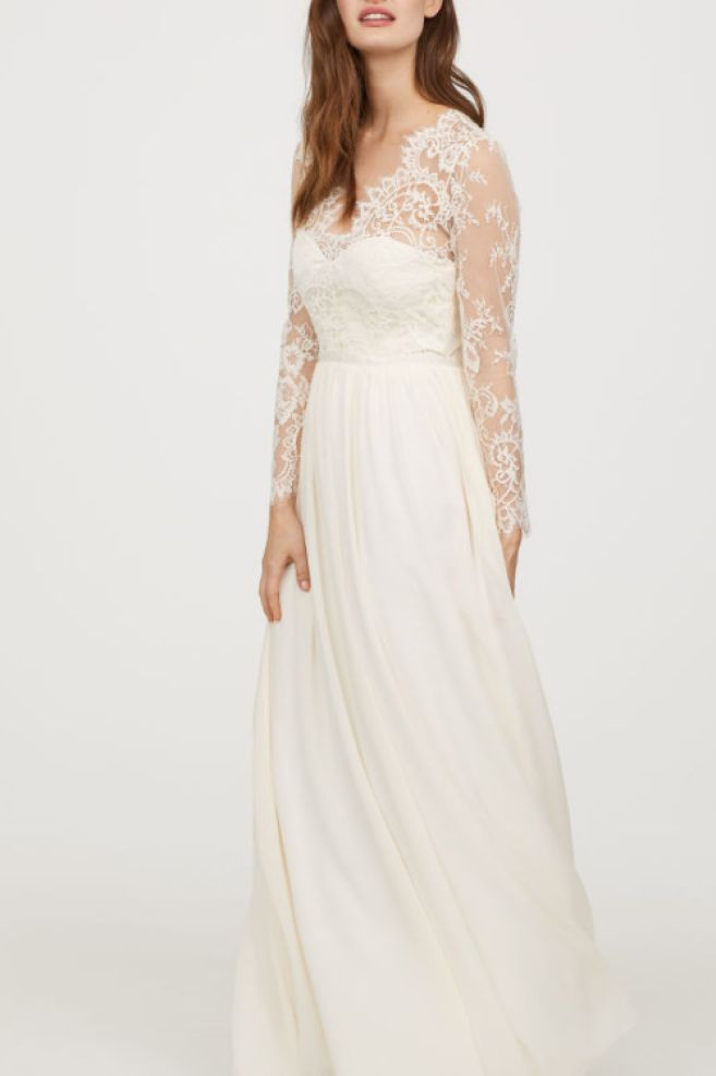 kate middleton wedding dress replica h&m
