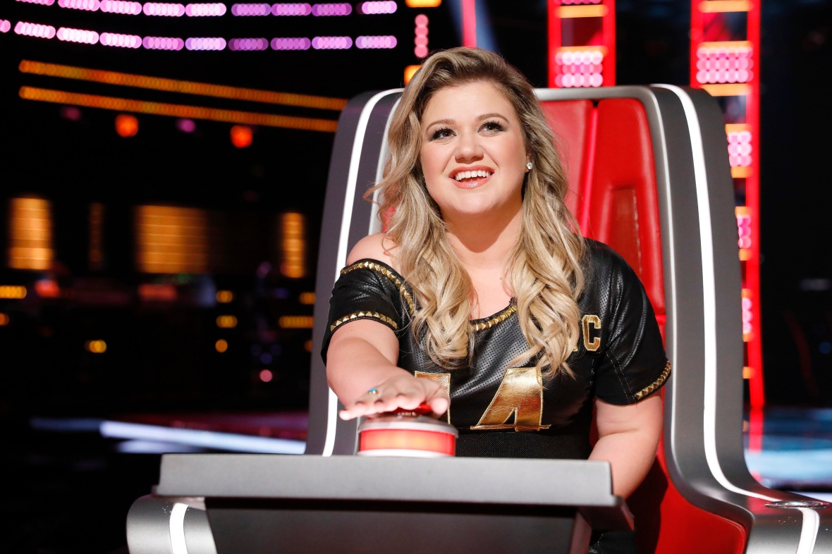 kelly clarkson the voice getty