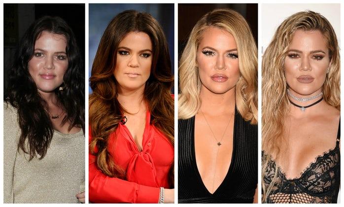 khloé kardashian transformation