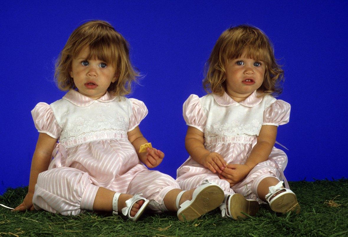 mary-kate and ashley olsen babies