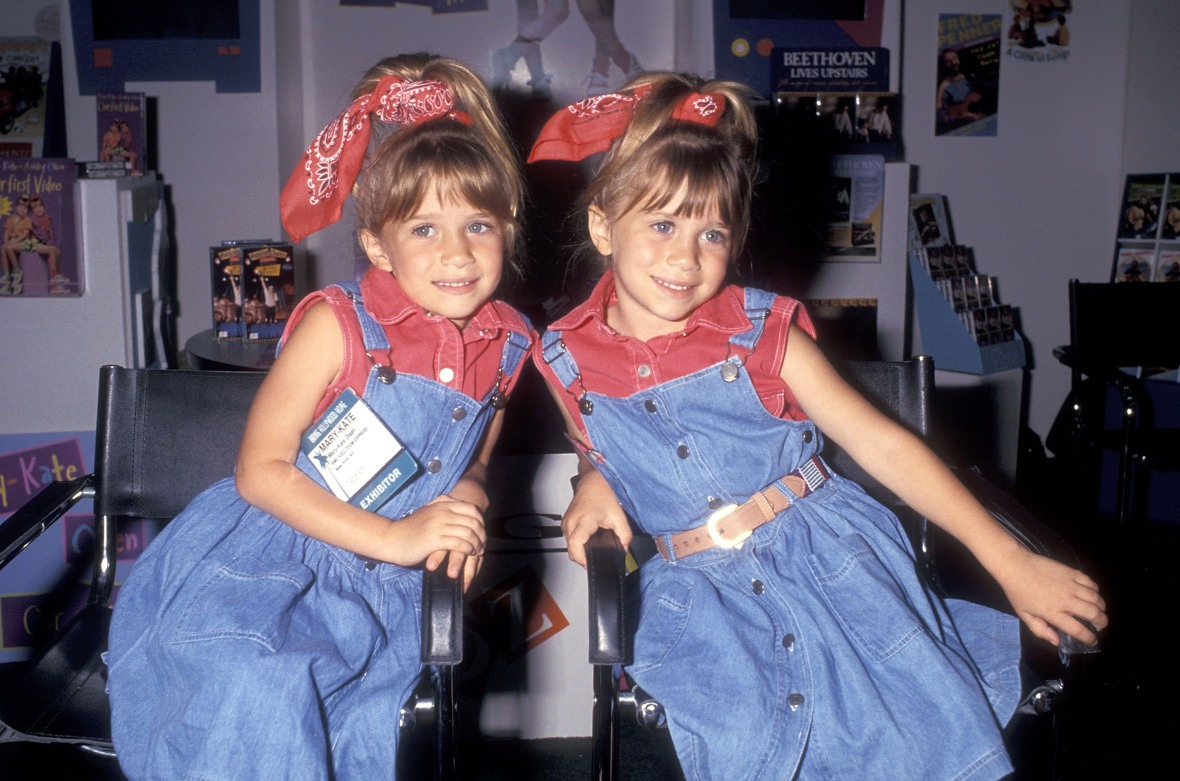 my first video mary-kate and ashley