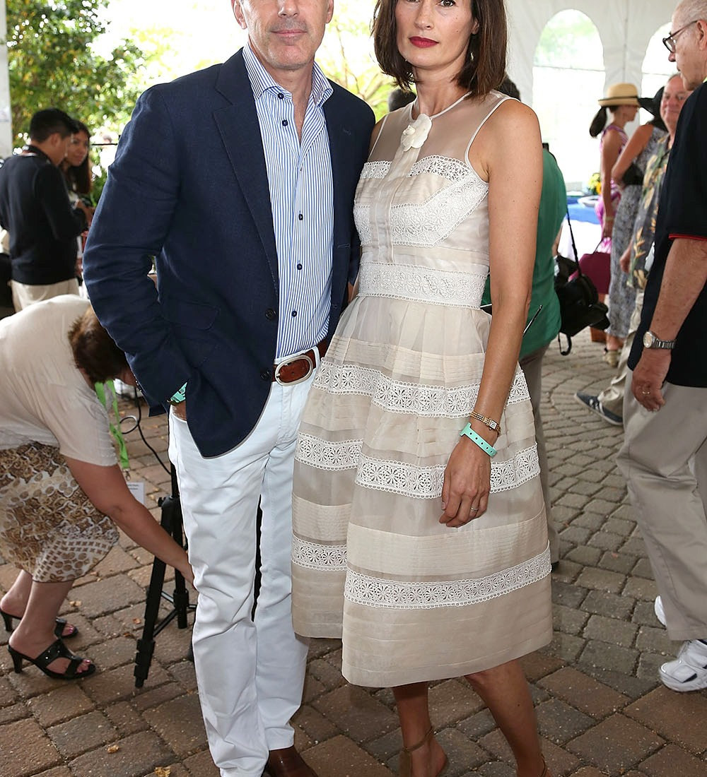 matt lauer wife annette getty