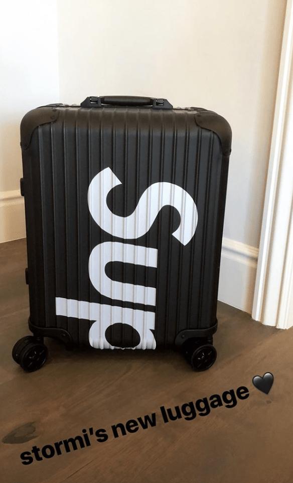 stormi webster luggage