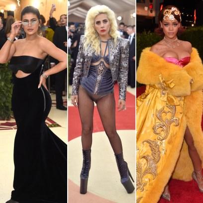 Met Gala Wardrobe Malfunctions Kylie Jenner, Lady Gaga, Rihanna