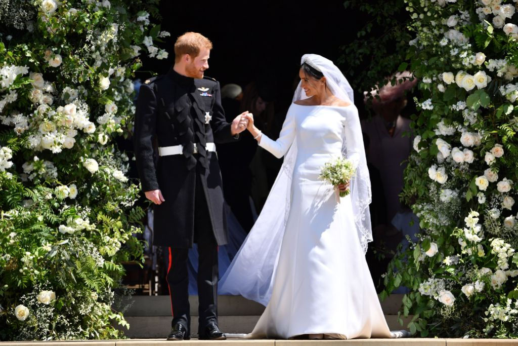 Prince-Harry-and-Meghan-Markle-on-Wedding-Day