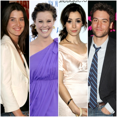 Ted Mosby's Love Interests from How I Met your Mother Today