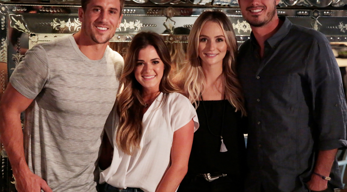ben higgins jojo fletcher lauren bushnell jordan rodgers getty images