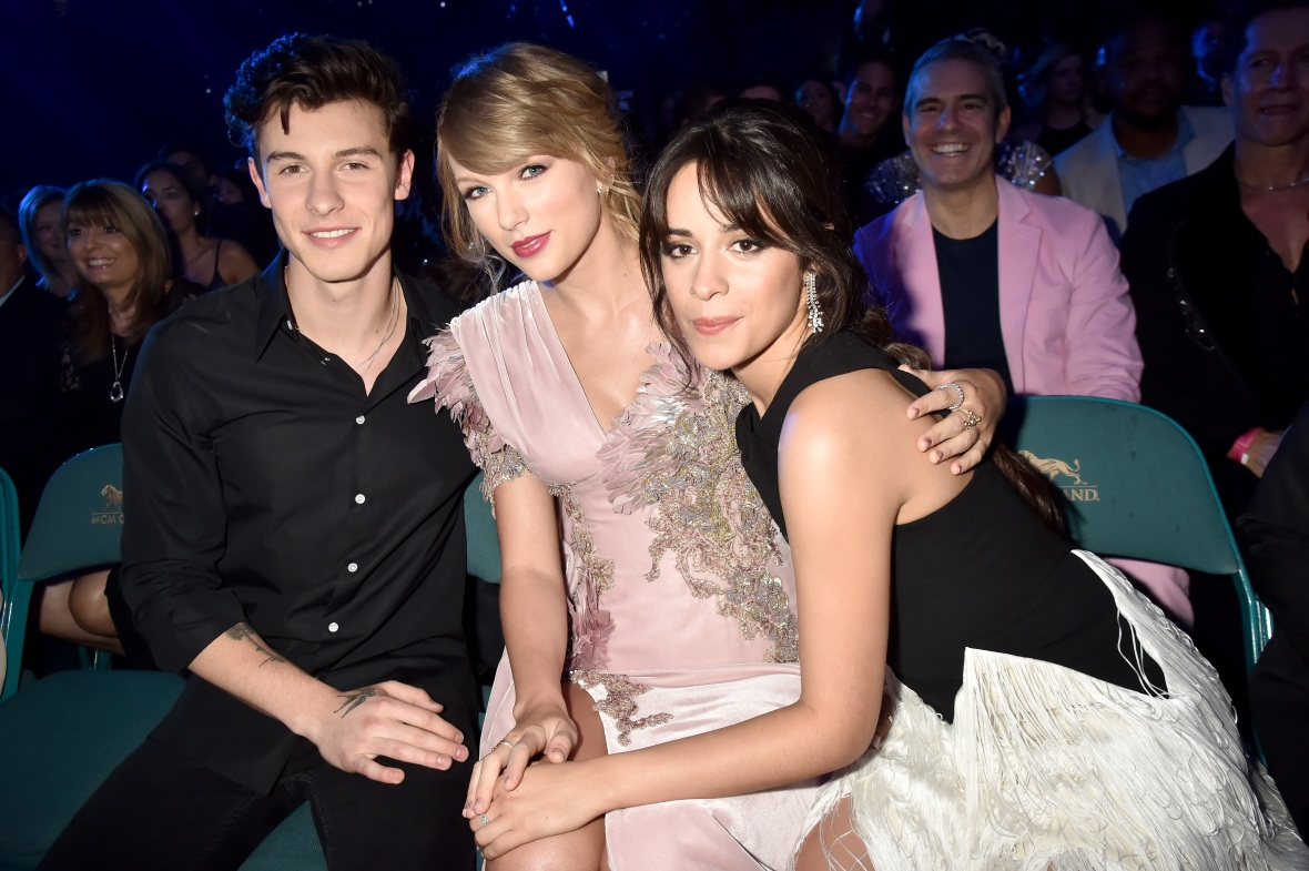 billboard awards shawn mendes taylor swift camila cabello
