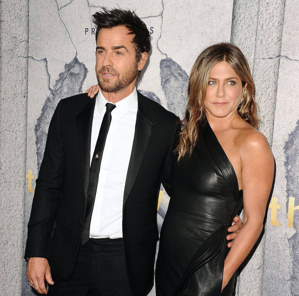 jen and justin theroux