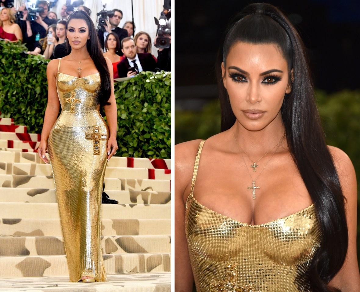 kim kardashian met gala details