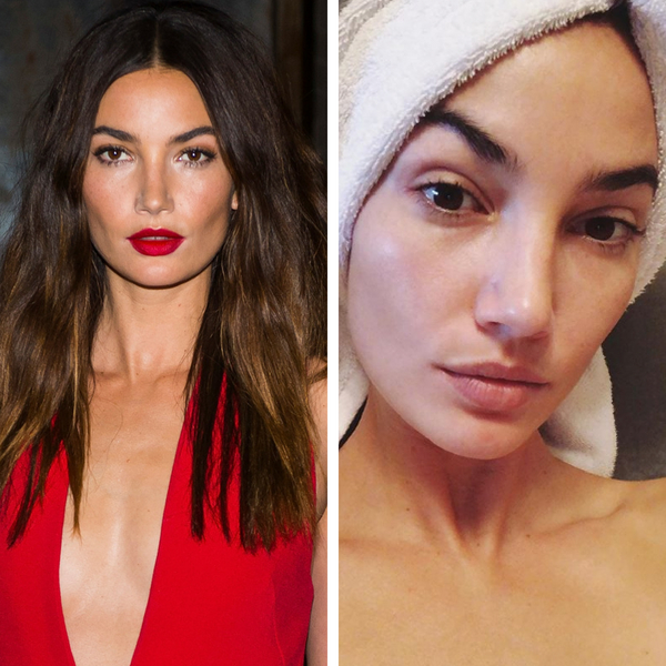 20 of Your Favorite Victoria's Secret Models With No Makeup