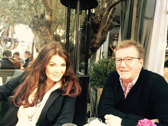 Lisa Vanderpump and Her Brother, Mark Vanderpump